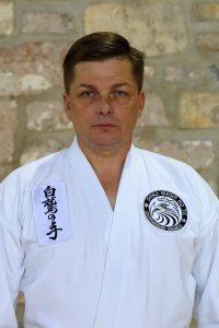 Renshi Marek Tuszyński 5 Dan Okiwanan Kempo 1 duan Wu Shu