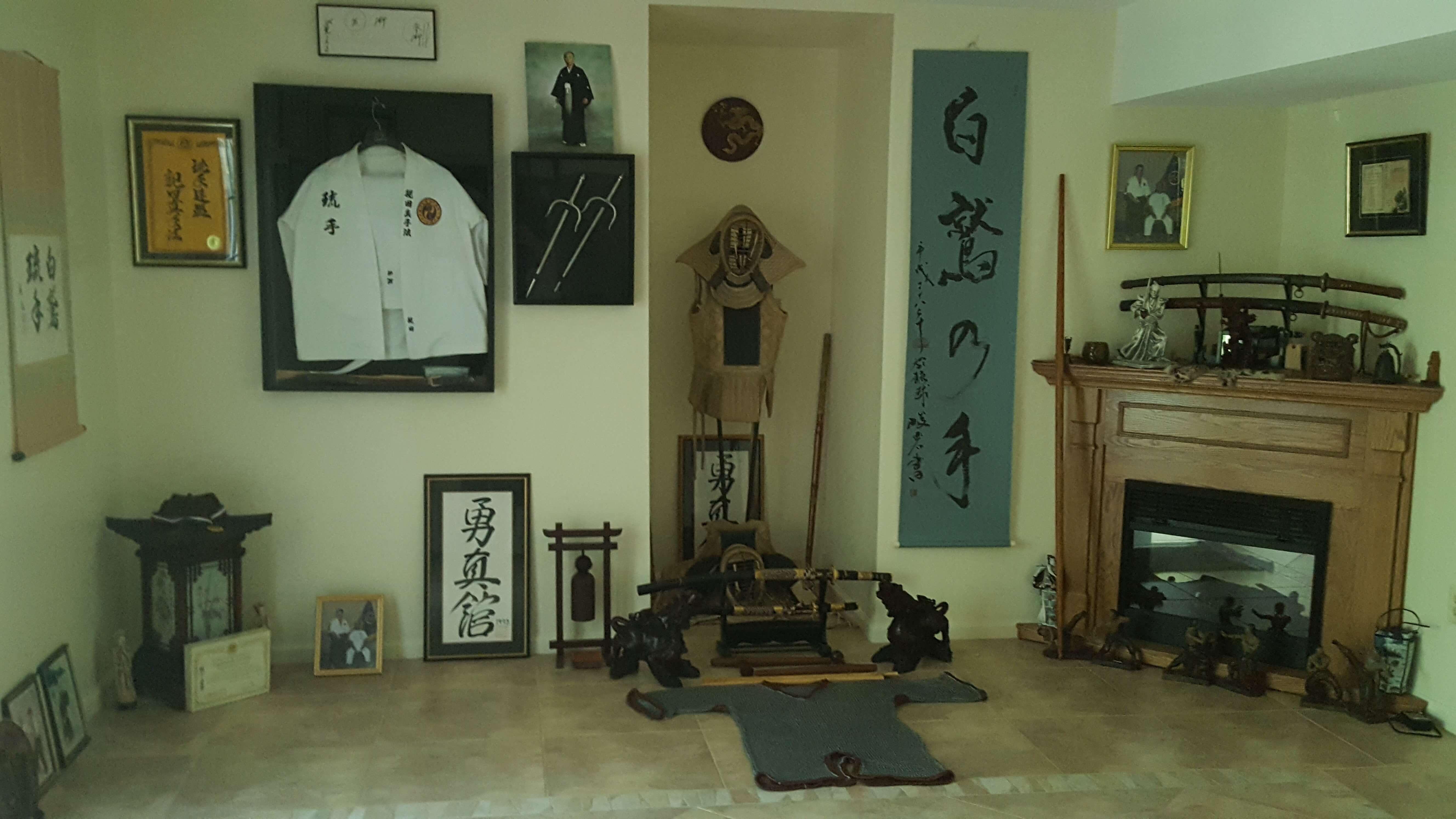Dojo w Domu Kyoshiego