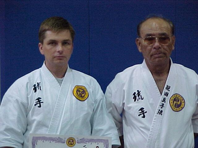 Renshi Marek Tuszyński oraz Taika Seiyu Oyata