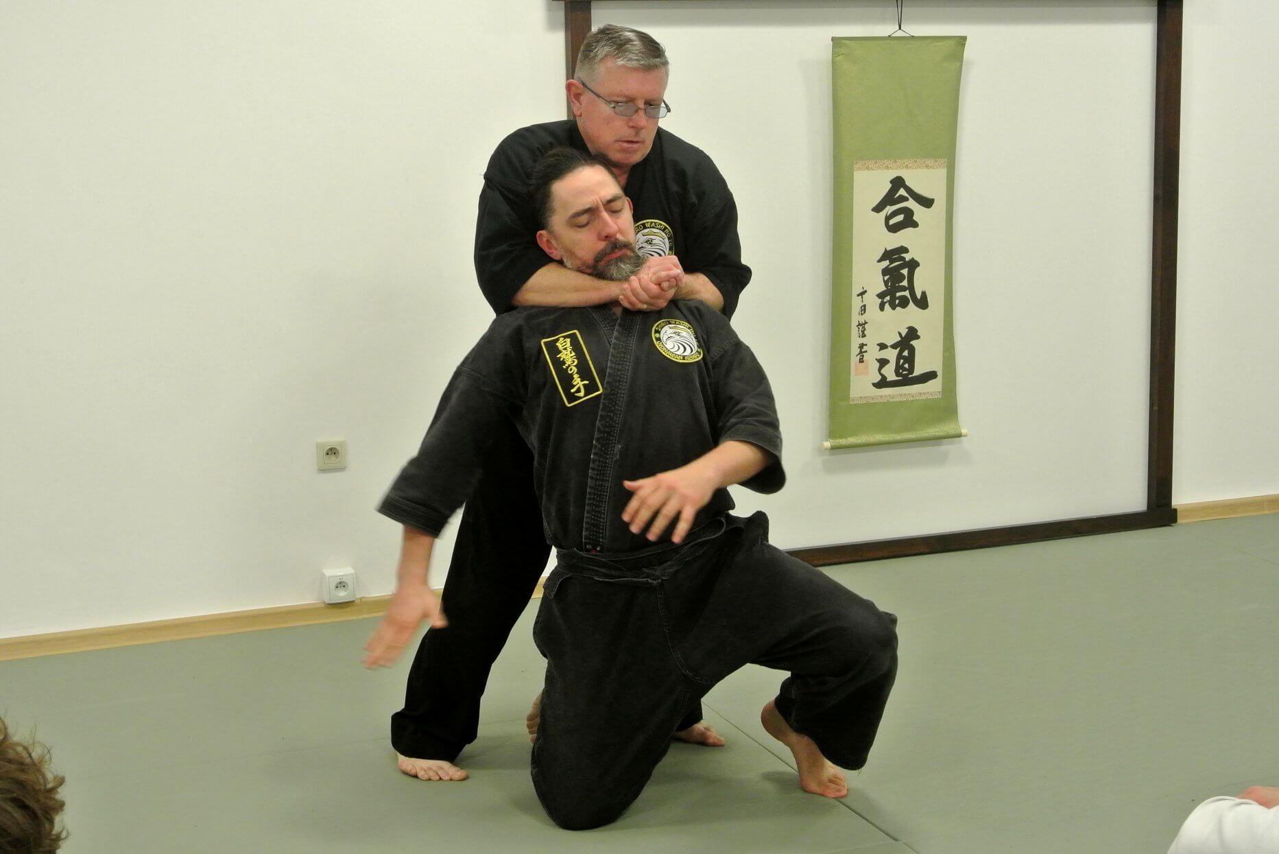 Seminarium Shiro Washi No Te Okinawan Kempo z Kyoshi Piotr Ciećwierz (8 dan)