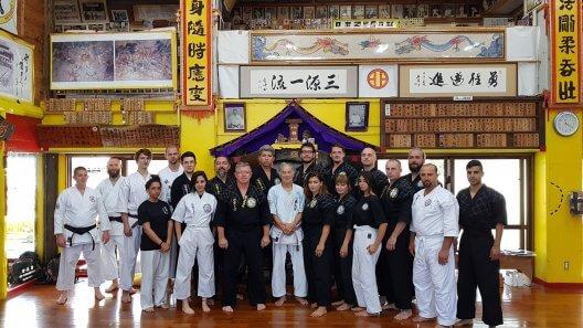 Seminarium SEIRYUKAN KOKUSAI BUDO RENGOKAI – Japonia – wrzesień 2018