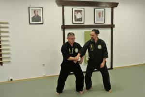 Seminarium Shiro Washi No Te Okinawan Kempo z Kyoshi Piotr Ciećwierz (8 dan) w Gdyni